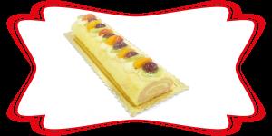 Trancio Rollè alla Frutta - Pasticceria Fresca - Idea Dolce